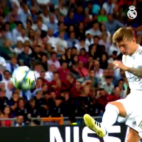 ⤴ @ToniKroos 💥 @Casemiro Neuf Madridistas ont déjà délivré des passes décisives ! 📺 VOIR 👉 bit.ly/9M_PD #HalaMadrid