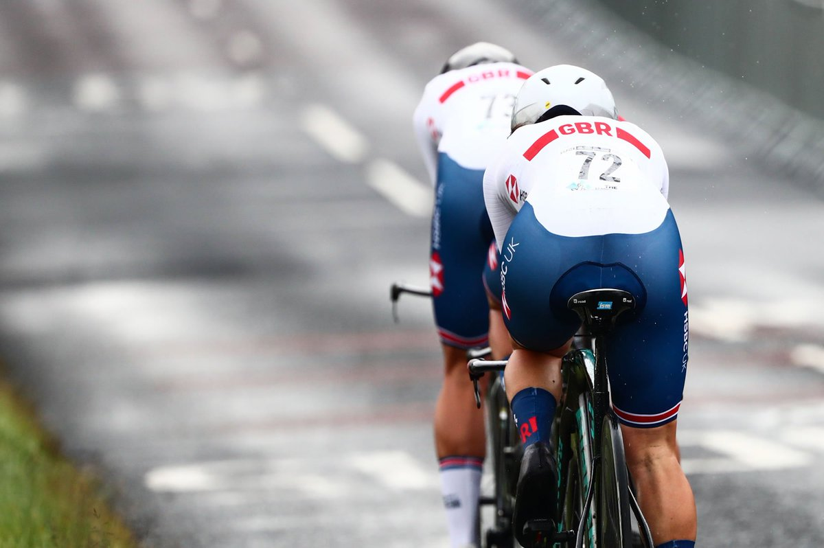 At @Yorkshire2019 we saw the World Championships debut of the Team Time Trial Mixed Relay event.  There were strong showings by @BritishCycling and @wirsindradsport but in the end it was the European Champions, @KNWU, who would reign supreme in Yorkshire.  #Yorkshire2019
