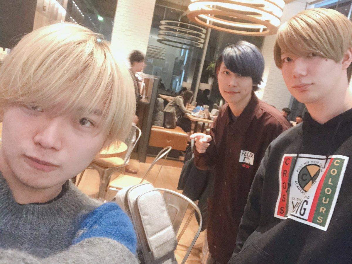 12/3アニソンカバーライブのメンバーです セトリが既に鬼すぎるが…… 続報を待てichika @ichika_mo & kent watari @kent_watari