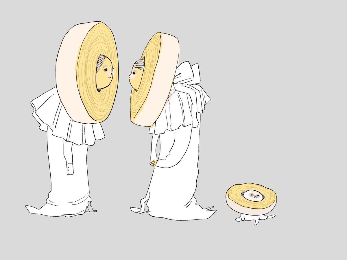 バウムクーヘンの年輪