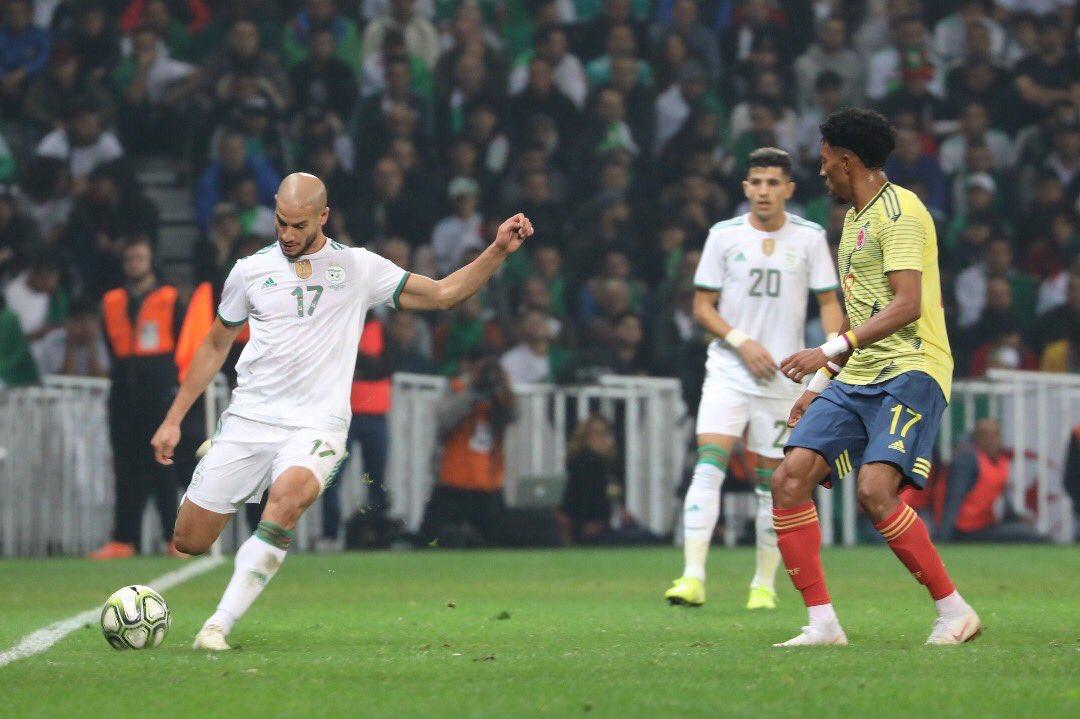 RT @AdleneGUEDIOURA: About last night ... ✨ #Algeria VS. #Colombia  15.10.2019 3-0 #TeamDz #DaBaBa #TiriBark https://t.co/BcEVnpkVQ4