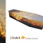 Image for the Tweet beginning: #CoffinoftheWeek is Golden Sunset from