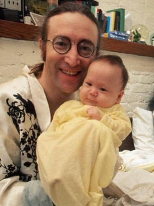 Happy birthday Sean Lennon! Born on the same date as his father, John Lennon