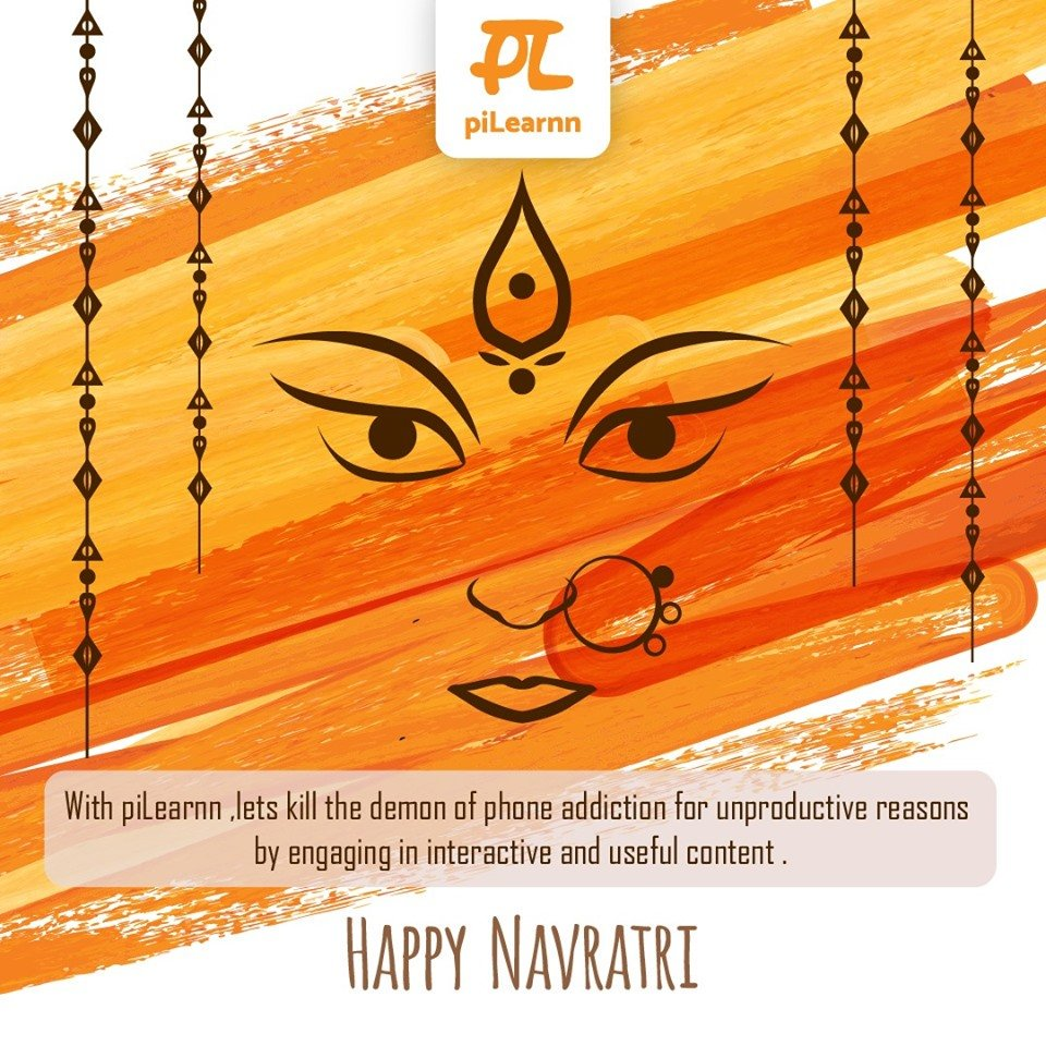 May the 9 avatars of Maa Durga bless you with 9 qualities – power, happiness, humanity, peace, knowledge, devotion, name, fame and health.  piLearnn wishes you all a happy Navratri!  #happynavratri #navratri2019 #navratri #navratriwishes #durgapuja #pilearnn #elearning #bcom