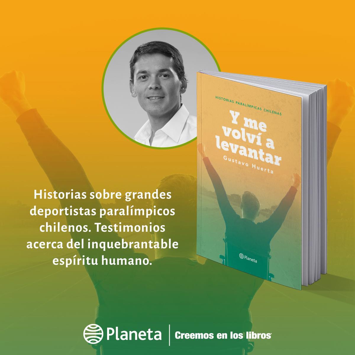 Encuentra en librerías el nuevo libro de @gustavohuerta: Y me volví a levantar. Una recopilación de nueve vidas que, además de enfrentarse a una constante lucha, son la prueba de que podemos y debemos levantarnos. #CreemosEnLosLibros 📚 https://t.co/rIihQun3Xi