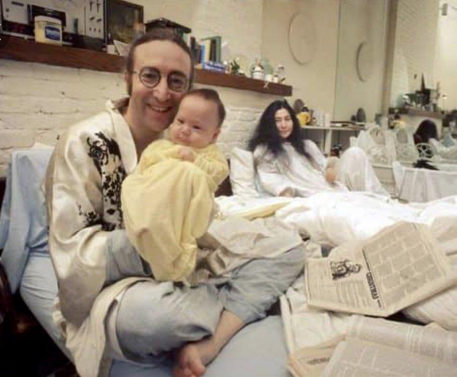 Happy birthday to John and Sean Lennon.