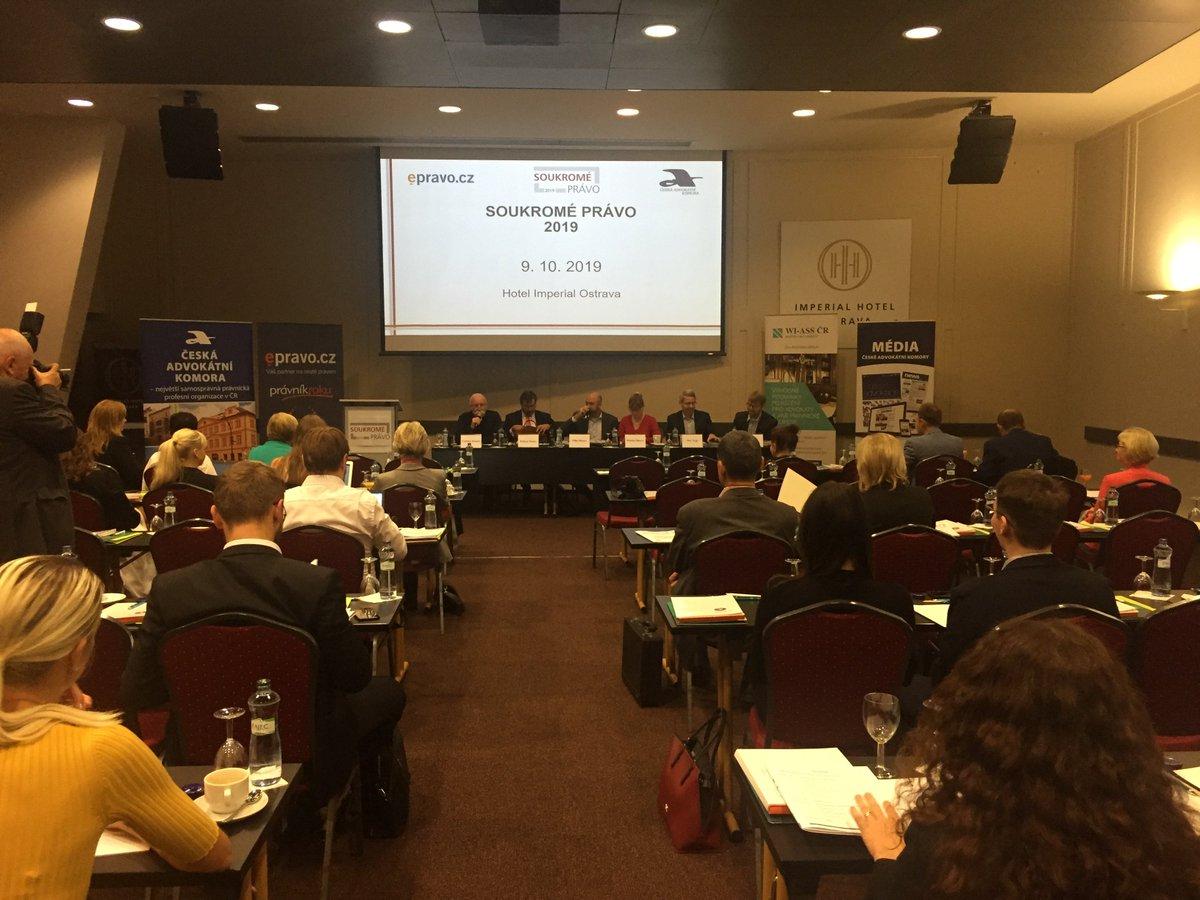 test Twitter Media - Aktuální otázky procesního a hmotného civilního práva, insolvenčního práva a moderní trendy v poskytování právní pomoci jsou hlavními tématy právě probíhající konference @CAK_cz a @epravo #Soukromepravo2019, která byla před chvílí zahájena v Ostravě: https://t.co/LiI6fzHVdQ https://t.co/m6GaGiSNf4