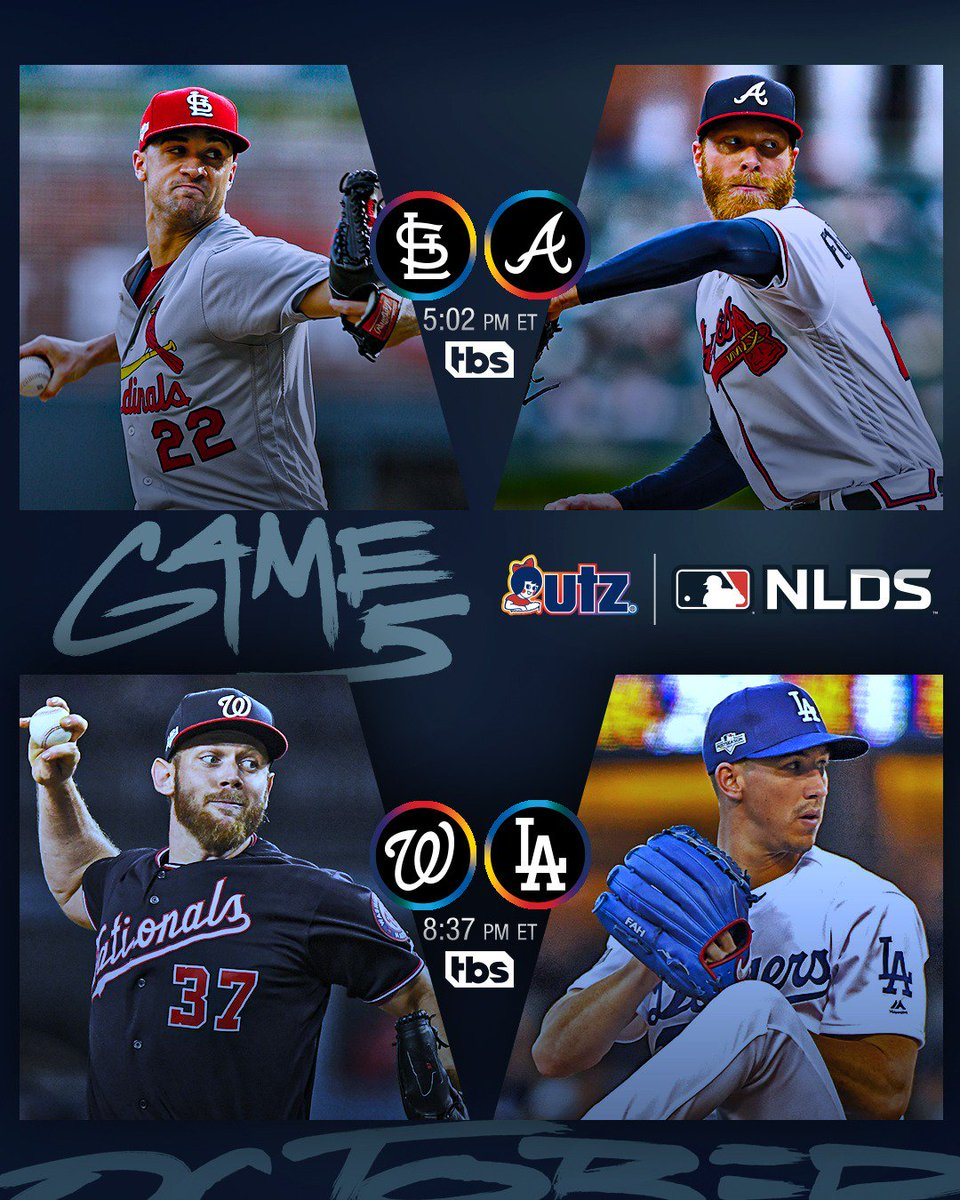 Clear your schedule. #NLDS