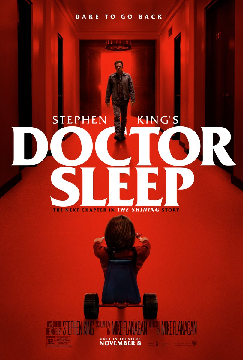Dare to go back. Stephen King's Doctor Sleep in theaters November 8. #DoctorSleepMovie