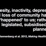 Image for the Tweet beginning: ...obesity, inactivity, depression and loss