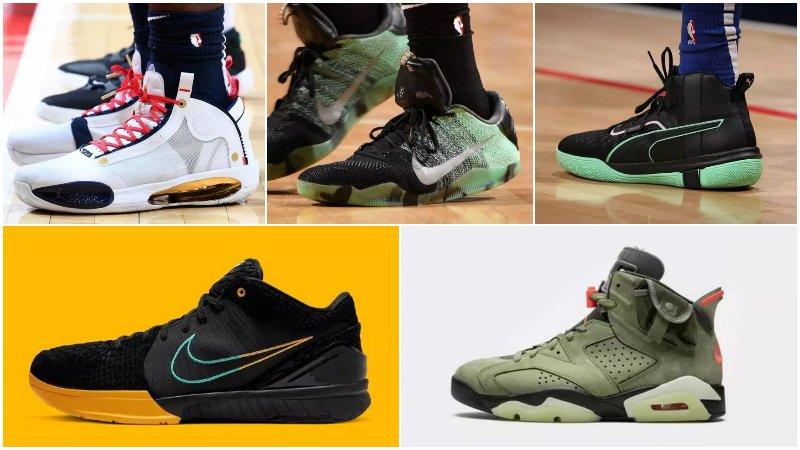 球鞋匯   NBA球員今日球鞋上腳:Zion穿AJ 34新配色,Leonard簽名鞋要來了!-Haters-黑特籃球NBA新聞影音圖片分享社區