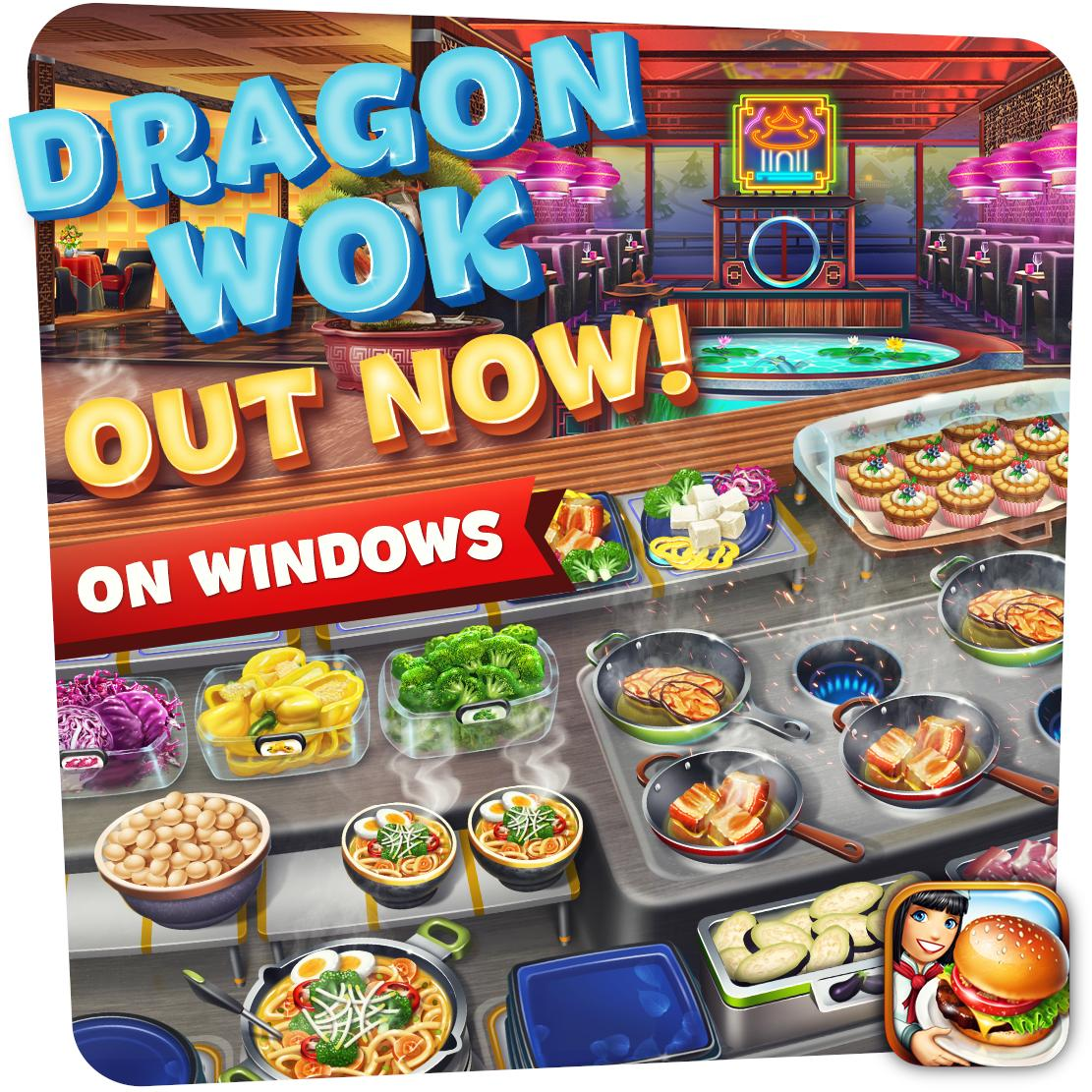 Dragon Wok is now available for Windows on Microsoft Store! Download here: https://t.co/J9VlQlDoWa https://t.co/nOAb6Foy5e