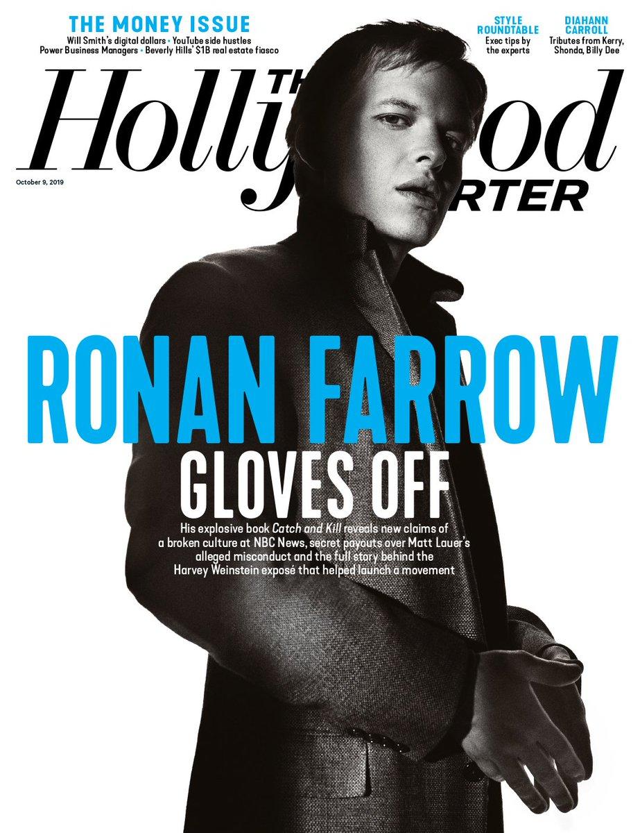 @THR's photo on Ronan Farrow