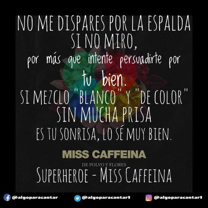 Algo Para Cantar On Twitter Frases Misscaffeina