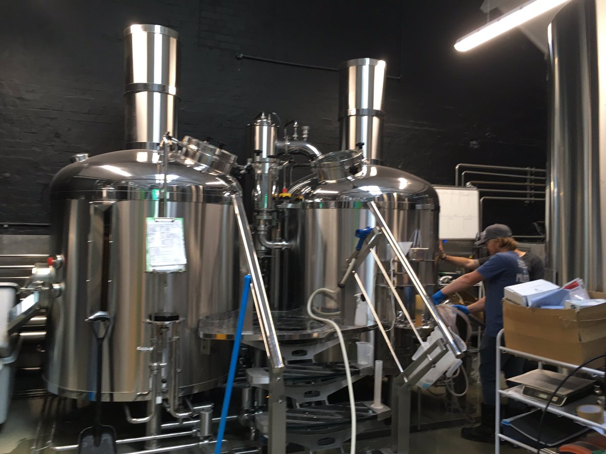 Image for Brewing with the lovely folks @TwoTribesBrew today.... https://t.co/kikUyWgXHV