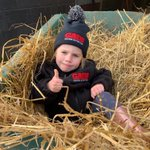Great advertising for our feed supplier this morning!!@GAINEquine Surely worth a few free pallets of feed I'd say!!