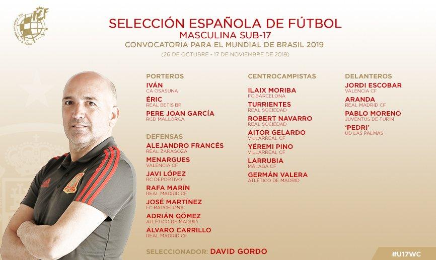 Espagne Mondial U17
