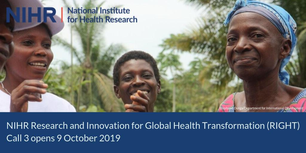 Today weve launched a new #globalhealth funding call for research on #multimorbidity in low and middle income countries. Find out more about this funding opportunity: bit.ly/32152RD #NIHRglobalhealth