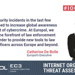 Image for the Tweet beginning: #Cybercrime is maturing and becoming