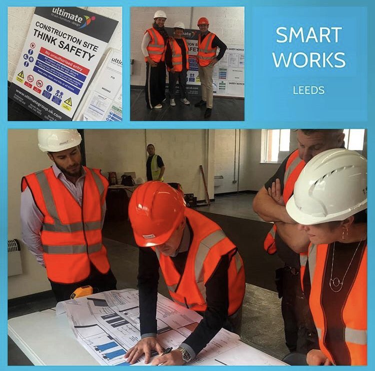 We're delighted to announce that work has started on our @smartworksleeds premises. We can't wait to see the finished product in a few weeks time. Huge thanks to @bowmanrileyarch and @Ultimate_Office for donating your services to our project. #smartworks #leeds