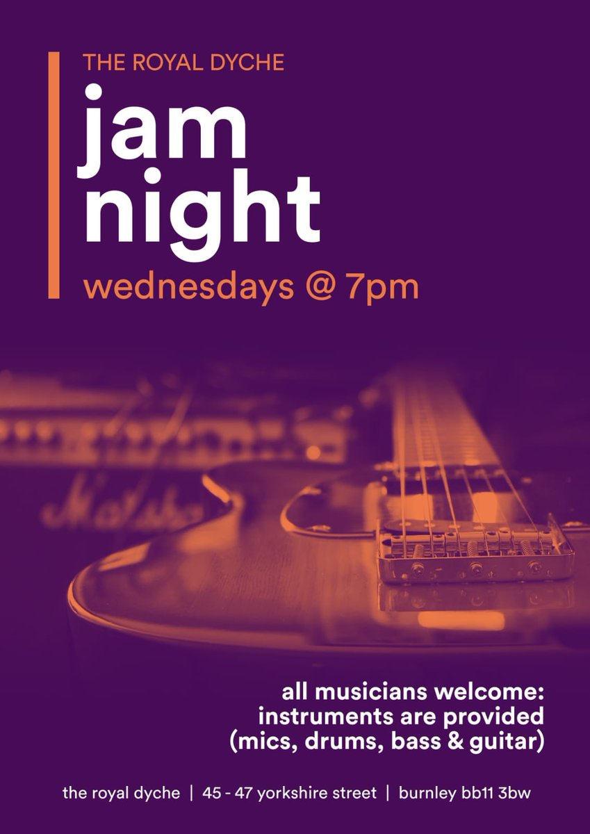 #HappyHour   6pm until 8pm Specials on selected beers & spirits  #JamNight   7pm until 11.30pm Instruments are also provided     #LiveFootball   7.45pm Kick Off  Stockport v Hartlepool United<br>http://pic.twitter.com/2wh6UN4JoK