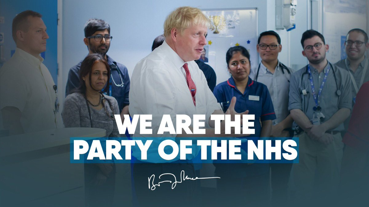 We're investing in #OurNHS to make sure that frontline services get the vital funding they need so that they can continue to be there for you and your family.