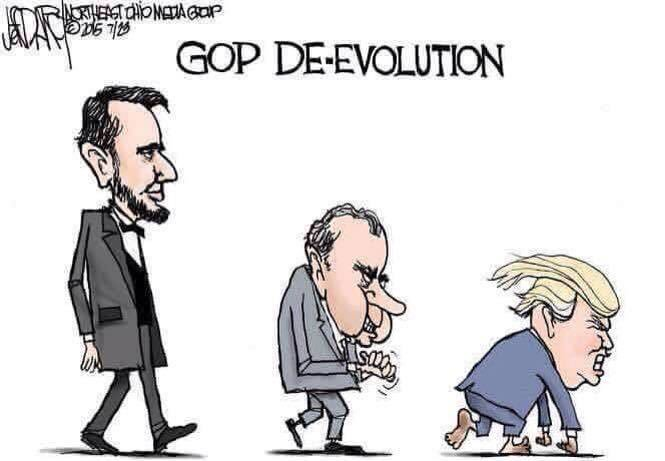 RT @EricWolfson: 150 Years Of Defying Darwin #RepublicanCampaignSlogans https://t.co/wXhh1dQUXY