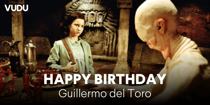 Happy birthday to one of the greats of horror and fantasy, Guillermo del Toro!