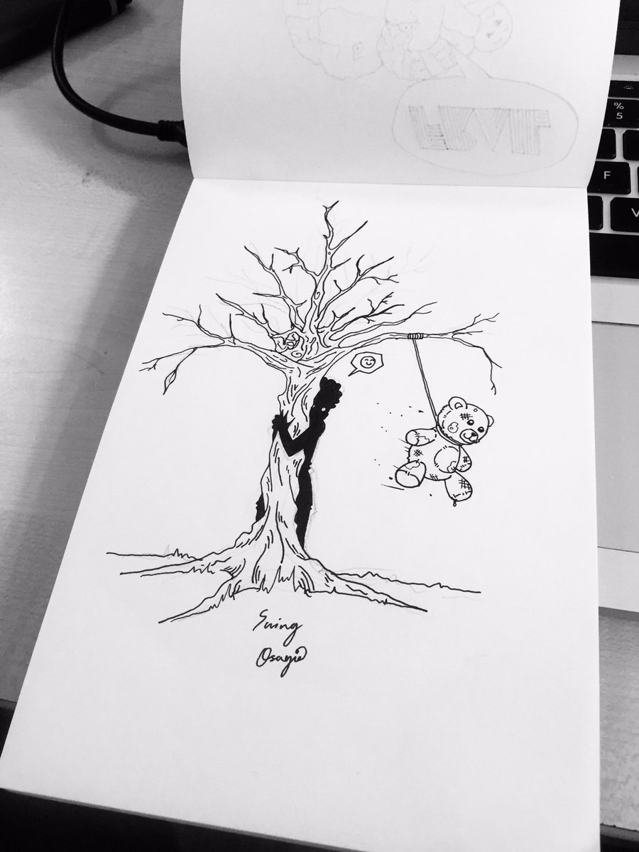 RT @Ejehi_Osagie: @inktober #Inktober #Inktoberday9 #illustration #WeAreNigerianCreatives  Day 9; Swing https://t.co/qwGKY7p4he