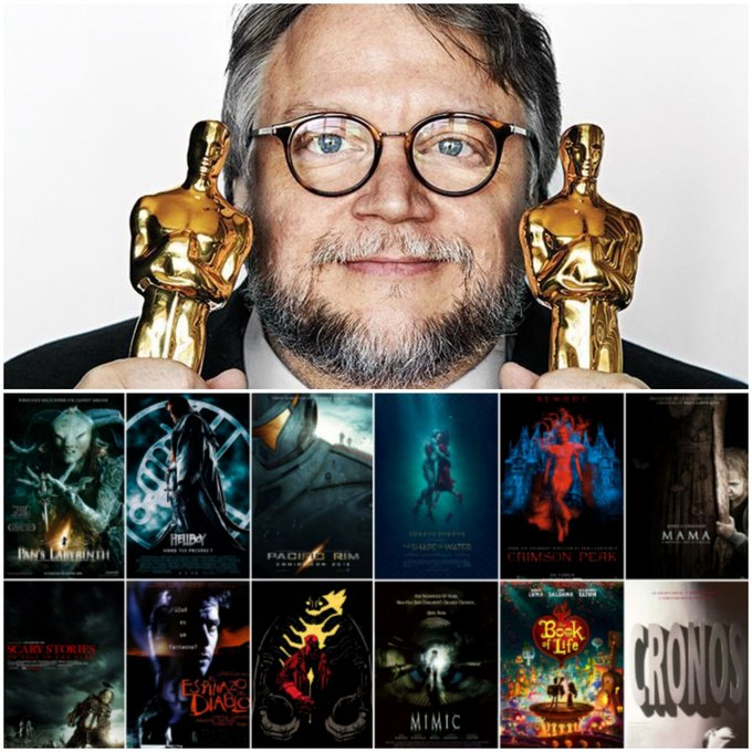 Happy 55th Birthday to one of the greatest Mexican filmmakers Guillermo del Toro.