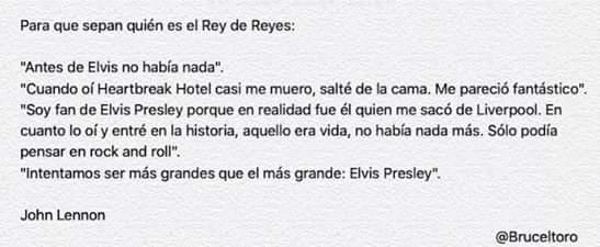 RT @Bruceltoro: #JohnLennon #JohnLennonBirthday #ReyDeReyes #TalDíaComoHoy #Efeméride https://t.co/aV1KcE1TZh