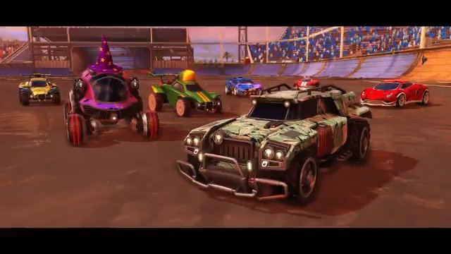 Stranger Things is turning @RocketLeague upside down! Everybody ready to party up on Monday?