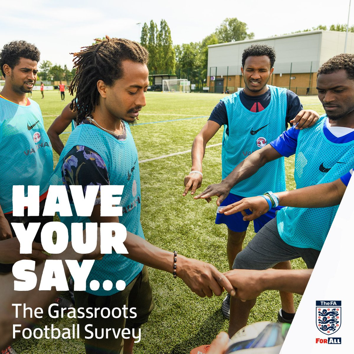 Its time to #HaveYourSay! The @FA Grassroots Football Survey is back for 2019 and we want to hear from you! ✍💻👉️️ bit.ly/GRFSSurvey