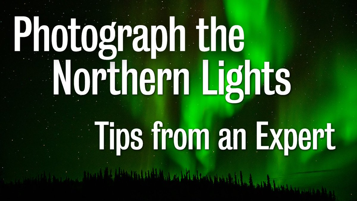 Learn a few of Dr. Jose Francisco Salgados best tips to photograph the Aurora Borealis in this interview we did in Yellowknife! youtu.be/iKnlGxfaOxE #auroraborealis #northernlights