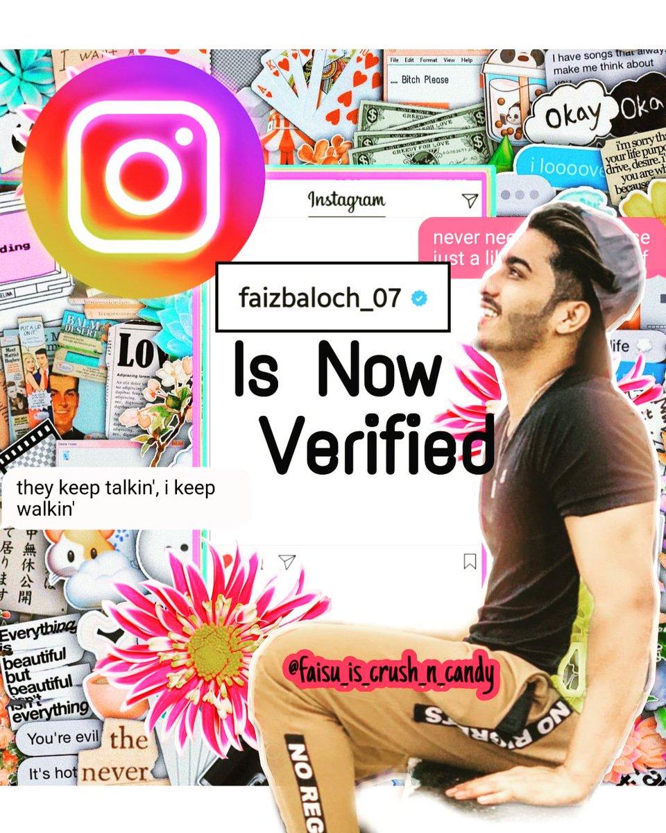 Finally Verified On Instagram  Congratulations @faizbaloch_07 #faizfa #faisusquad#faisu #faisusquad #team07 #team07lovers @Memonshifu_07 @Adnaan__07dz @mr_faisu_07pic.twitter.com/7jxf2rXbnF