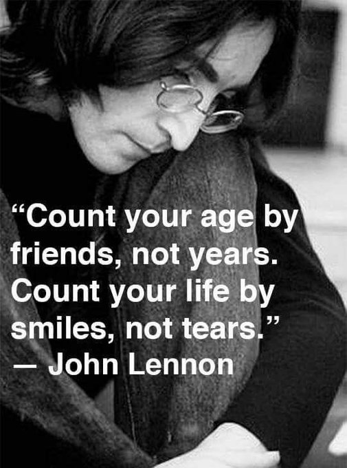 Happy 79th birthday, John Lennon! Thank you for spreading your words of love and peace around the world!