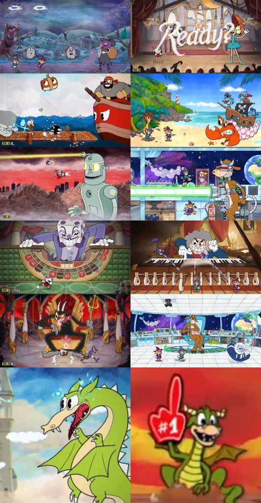 Enchanted Portals: Can I copy your homework?Cuphead: Sure just make it look different so it doesn't look like you just copied it. Enchanted Portals: Sure thing.BOYYYY if this isn't borderline plagiarism....