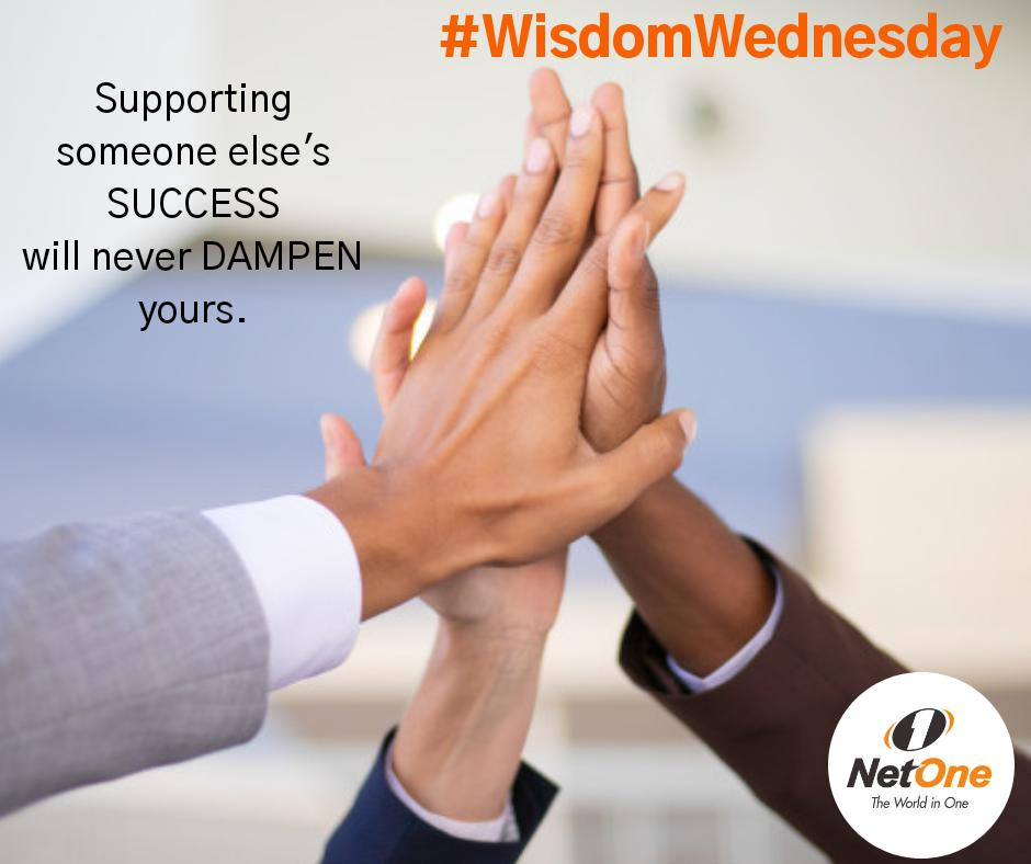#WisdomWednesday  Lets support and celebrate each others' success.  @LazarusMuchenje @ShereniDr @luphahlaTE @vinceblek @MuyutuSherpard @DubeElmah https://t.co/eLfpSDCSQD