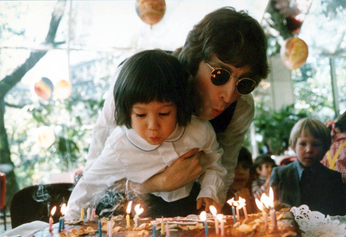 @yokoono's photo on Happy Birthday John