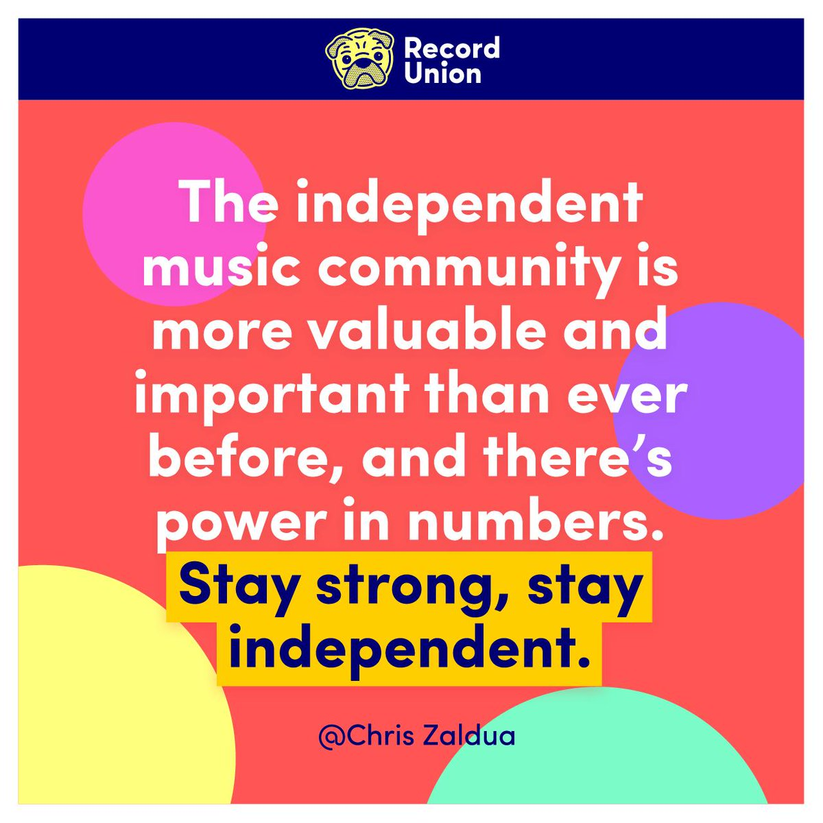 Why being independent is so important in live music 👊 ✍️: Chris Zaldua of @eventbrite is a San Francisco-based writer, event producer, record label co-founder and DJ. hypebot.com/hypebot/2019/1… @hypebot