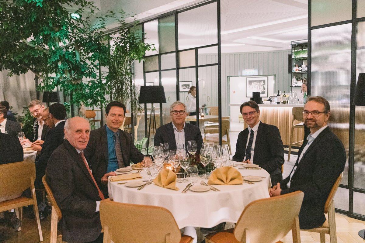 Faculty dinner from the #ESCDigital Summit 2019 in Tallinn.