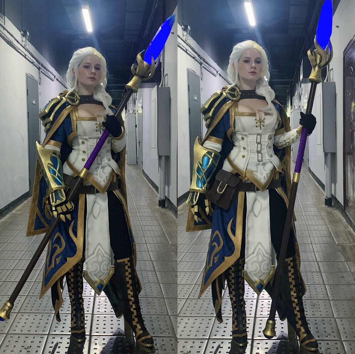 FINALLY I MADE IT 😱❤️ Thanks to everyone who supported me all this time! Costume made by me; The staff made by @vitaliy_joiner; Special thanks to @NargaLifestream for useful tutorial! @BlizzardCSEU_RU @Blizzard_Ent #cosplay #cosplayer #warcraft