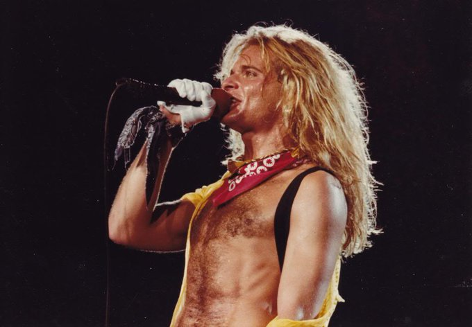 Happy birthday to the greatest frontman of all time, David Lee Roth!