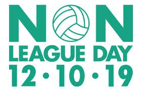 #NonLeagueDay 12/10/19 No Sky TV, no VAR, No punditry, no rip off bar, Young or old, boy or girl, See best football in the world God bless Non-League Day, Viva Non-League Day, Long live Non-League Day, Cest magnifique Non-League Day, Magnifique Non-League Day @nonleaguedayuk