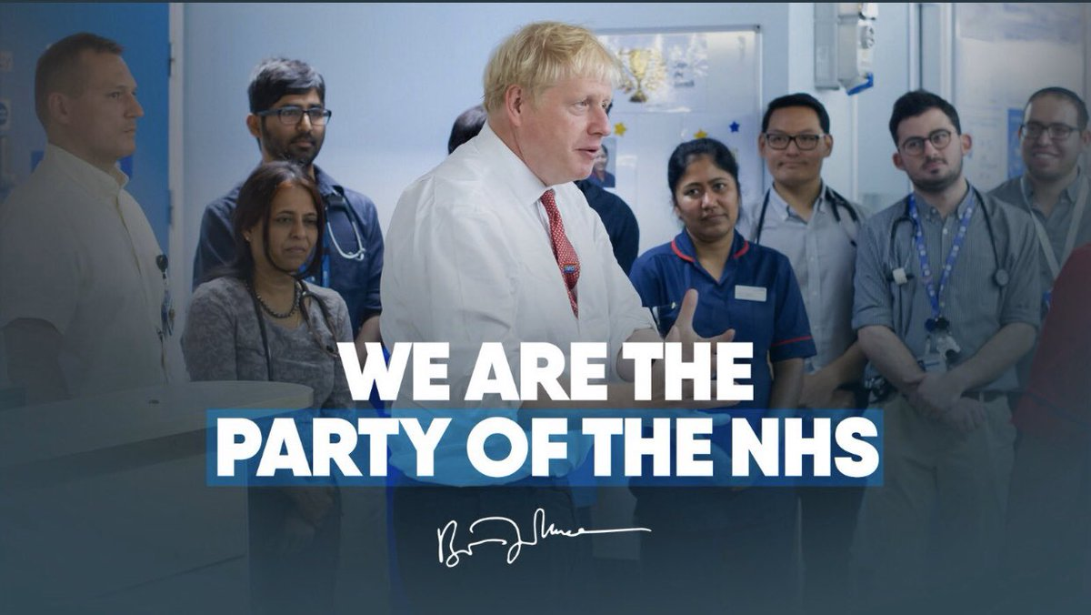 Excuse me? Since 2010 your party has: 🔹Culled 15k NHS beds 🔹Cut half all district nurses 🔹Cut 6k mental health nurses 🔹Created 42k nurse & 10k doctor vacancies 🔹Caused dire cancer & ED waits Your NHS track record could not be more damning.