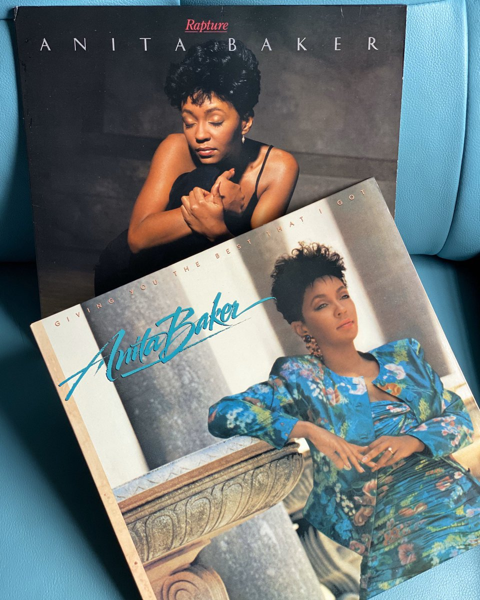 I started my morning with Anita Baker so I feel like only good things should happen today.