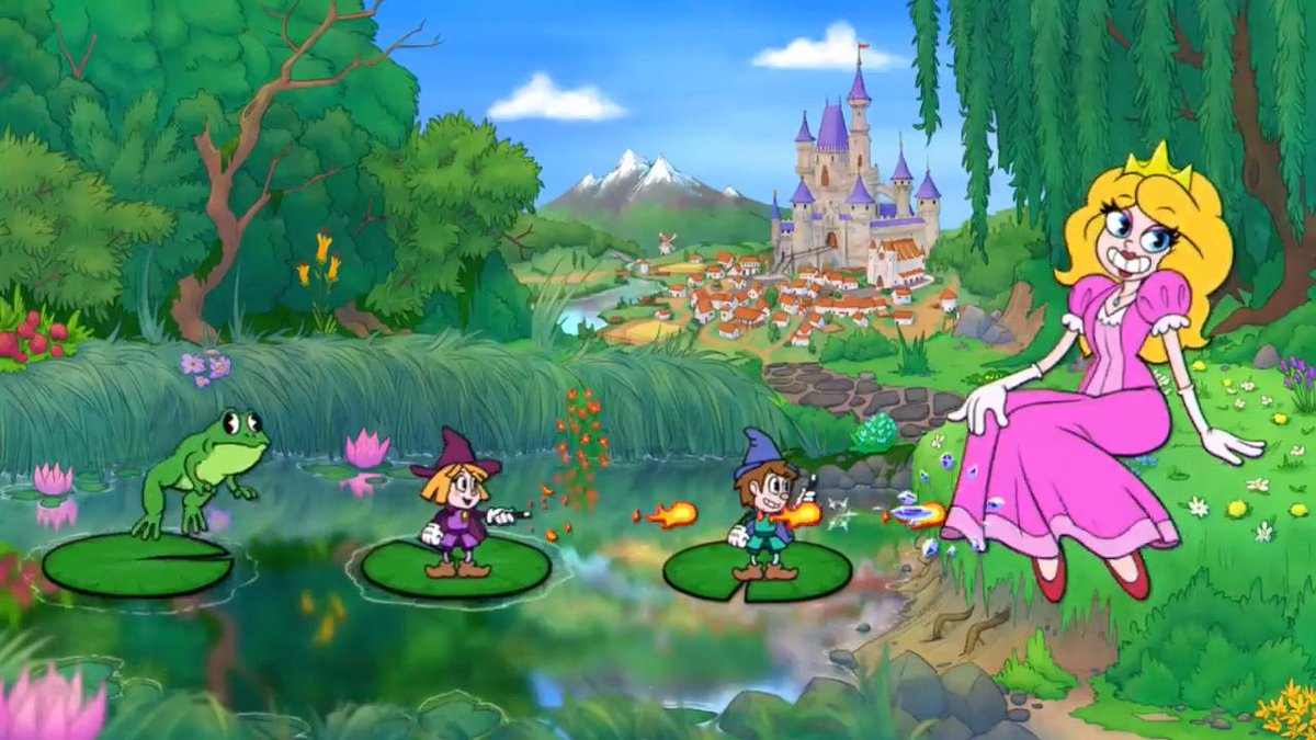 Enchanted Portals looks like it has a lot of effort put into it, but it's just a shame that effort went into what people will probably just remember as a Cuphead rip-off.But, at least we did get some @lesserisbetter material out of it.
