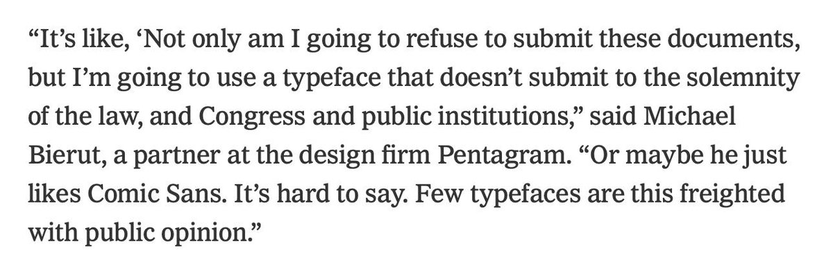 Comic Sans: tasteless or treasonous? @emmabgo & I discuss at @NYTStyles nytimes.com/2019/10/09/sty…