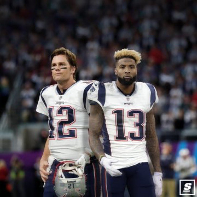 Patriots have inquired about the availability of Odell Beckham Jr., per source.