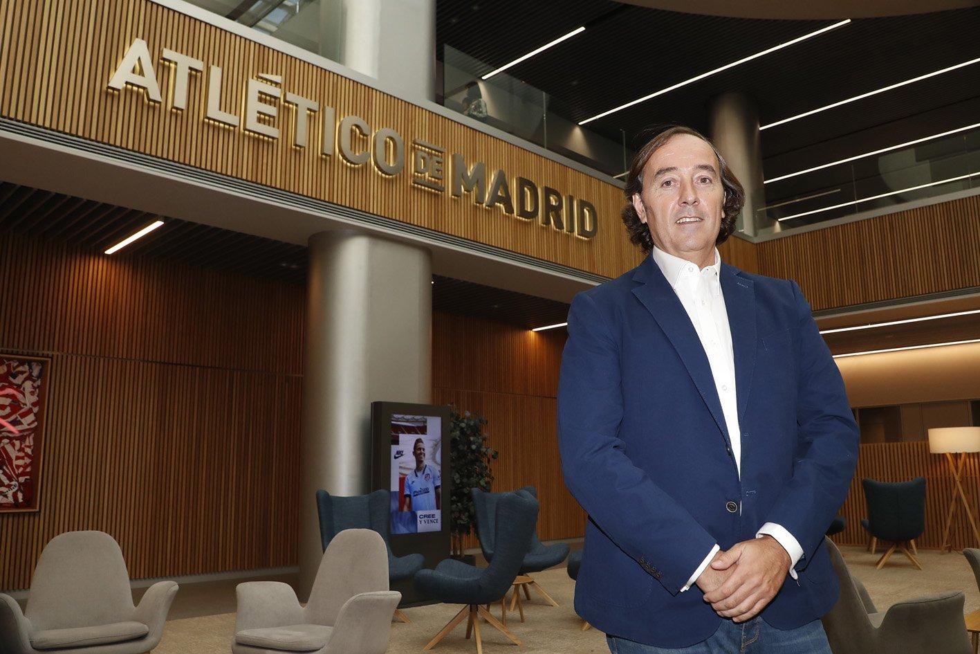 Pablo López, en las oficinas del Metropolitano (Foto: ATM).